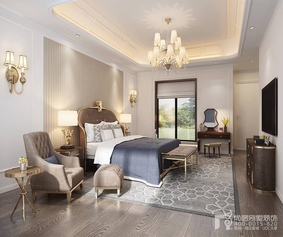 杭州 尚层 装饰 卧室 别墅图片来自别墅装修达人在别墅装修案例1的分享