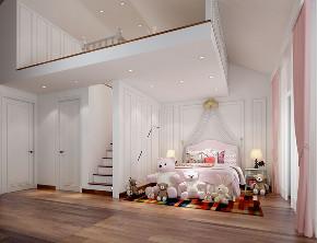 简约 混搭 别墅 小资 儿童房图片来自林上淮·圣奇凯尚装饰在金隅上城郡 极简低奢别墅的分享