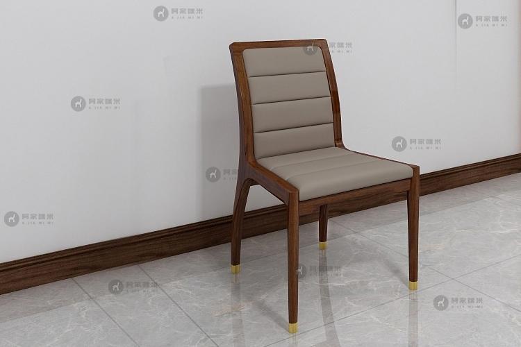 餐厅 实木家具 乌金木餐椅图片来自浙江阿家咪米在北欧乌金木家具装修效果图的分享
