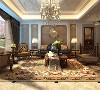 在客厅中,茶几、落地灯、花架起着画龙点睛的作用,欧式风格的茶几自然简约,大气的设计特显高贵的气质。软装布局让客厅既温馨又整洁!