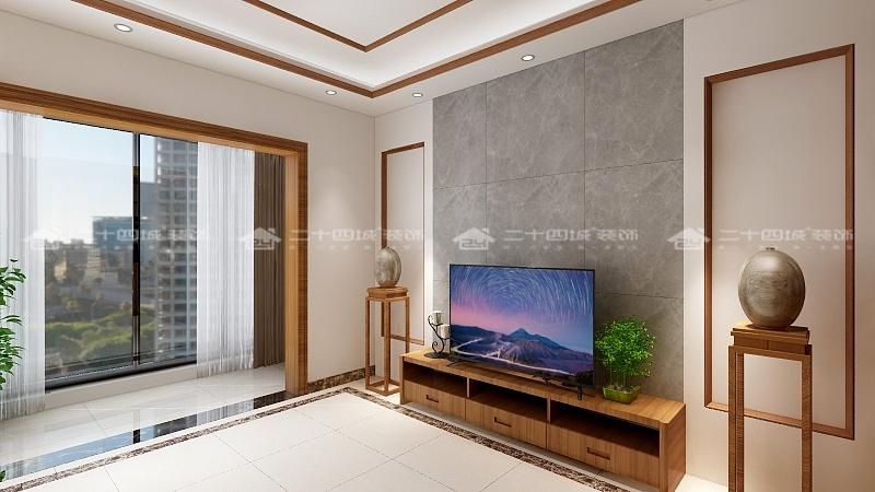 中式 中式古韵 传统 温馨 新中式 新中式古典 舒适 小资 混搭 阳台图片来自二十四城装饰(集团)昆明公司在斗南花田国际  中式的分享