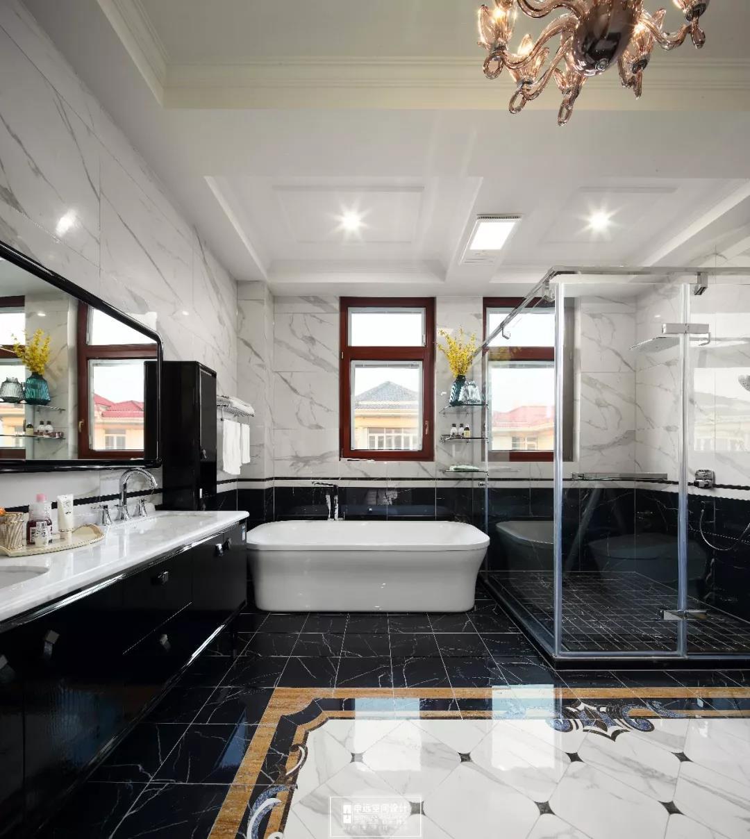 别墅 法式风格 欧式 卫生间图片来自申远空间设计北京分公司在完工实景拍摄--法式风格的分享