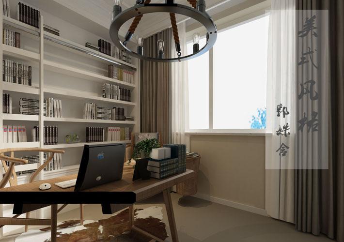 百家装饰 沈阳装修 美式风格 孔雀城 客厅图片来自百家装饰--小莹在孔雀城 450平美式风格的分享