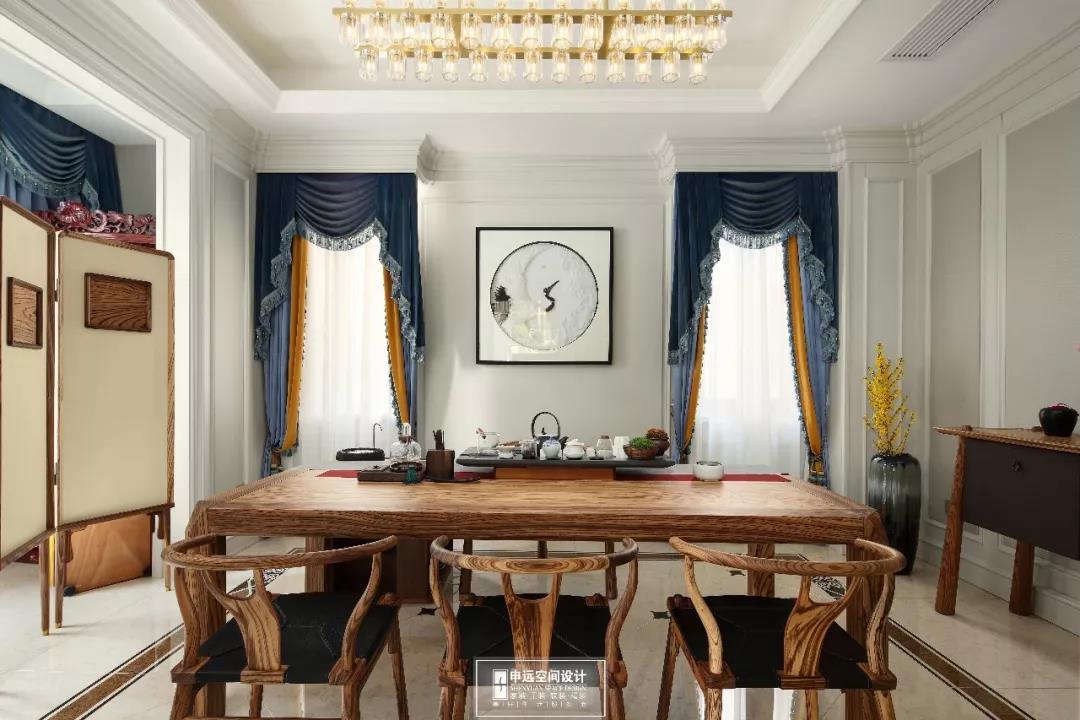 别墅 法式风格 欧式 其他图片来自申远空间设计北京分公司在完工实景拍摄--法式风格的分享