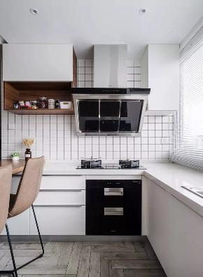 北欧 翻新 简约 全包 全案设计 厨房图片来自鹏友百年装饰在灰蓝色北欧风,比高级灰还有范的分享