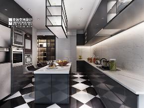 欧式 简约 别墅 简欧 厨房图片来自申远空间设计北京分公司在简约欧式-财富公馆的分享