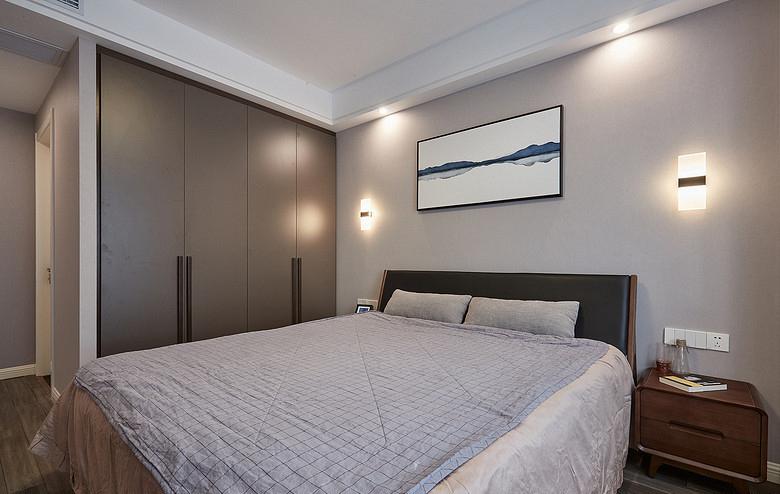 卧室图片来自家装大管家在100平现代北欧3居 简单的才是家的分享