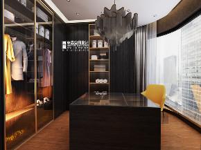 欧式 简约 别墅 简欧 衣帽间图片来自申远空间设计北京分公司在简约欧式-财富公馆的分享