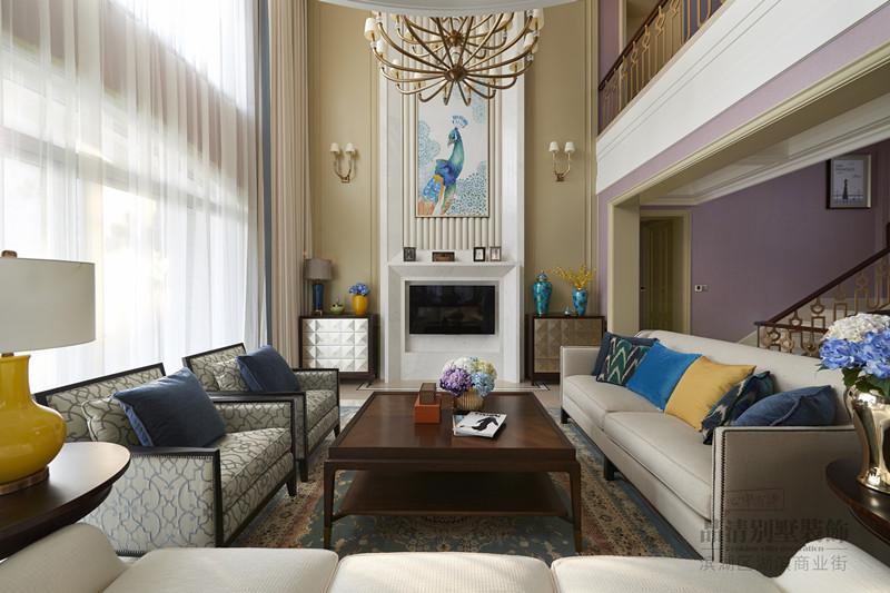 别墅 客厅 卧室 厨房 餐厅图片来自别墅装修设计师在太湖锦绣园480㎡后现代的分享