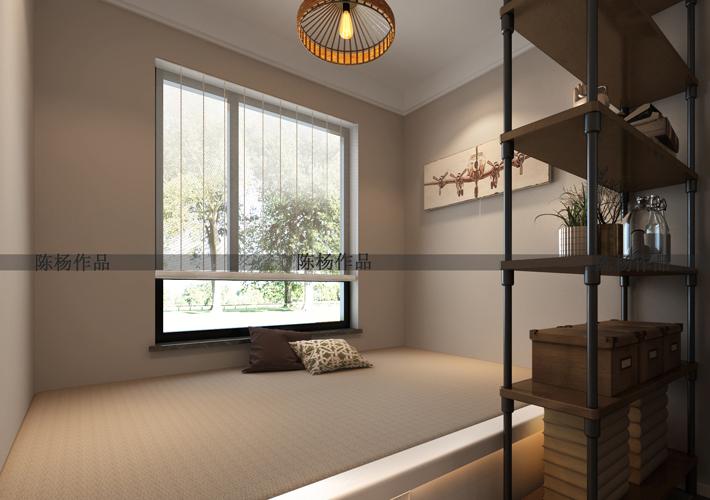二居 翠堤湾 现代风格 卧室图片来自百家设计小刘在保利达翠堤湾79平现代风的分享