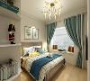 本案例为山西紫苹果装饰欧式风格装修案例    卧室装修  153平米装修