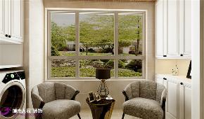 简约 阳台图片来自济南城市人家装修公司-在保利华庭装修三居室欧式风格的分享