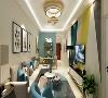 本案例为山西紫苹果装饰欧式风格装修案例    客厅装修  153平米装修