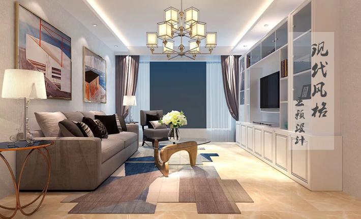 百家装饰 现代风格 雅宾利 沈阳装修 装修设计 客厅图片来自百家装饰--小莹在雅宾利 101平现代风格的分享