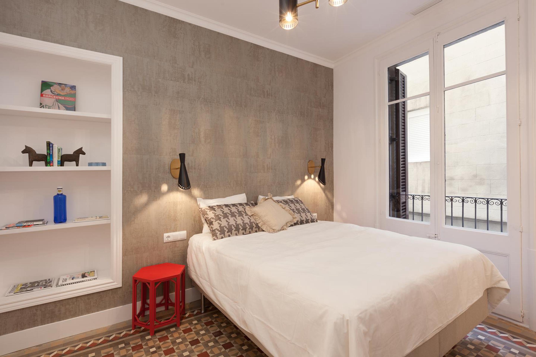 欧式 二居 旧房改造 卧室图片来自北京今朝装饰在北欧主义的分享
