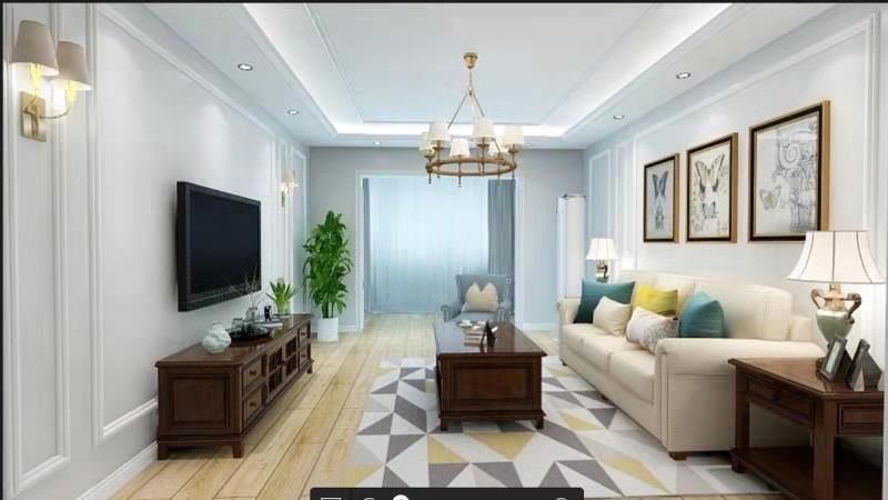 二居 旧房改造 客厅图片来自徐春龙设计师在传奇再现2的分享