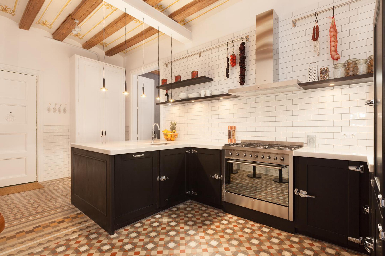 欧式 二居 旧房改造 厨房图片来自北京今朝装饰在北欧主义的分享