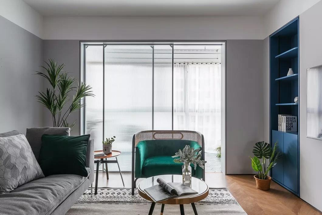 会客厅图片来自用户20000004910458在北欧风格120㎡装修风格的分享