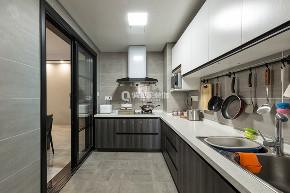 现代 新江与城 装修设计 装修案例 俏业家 厨房图片来自俏业家装饰在新江与城清晖岸三居室现代风格的分享