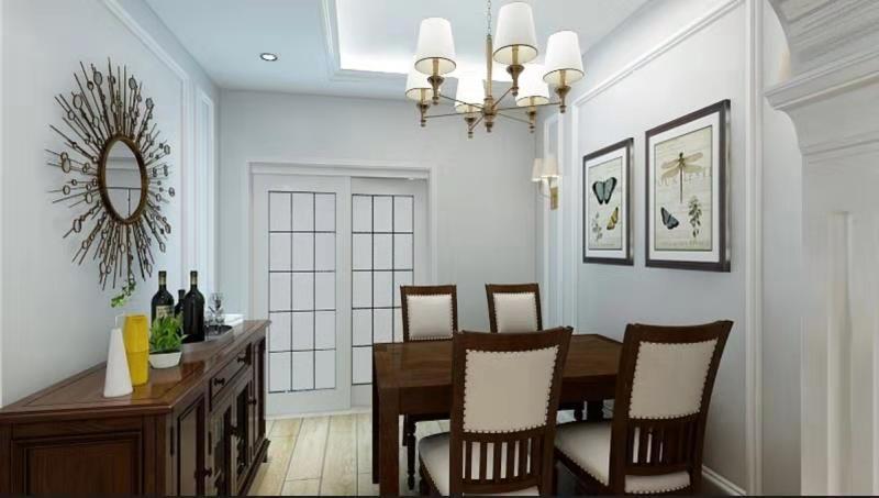 二居 旧房改造 餐厅图片来自徐春龙设计师在传奇再现2的分享
