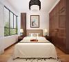 本案例为山西紫苹果装饰滨河果岭新中式风格卧室装修案例