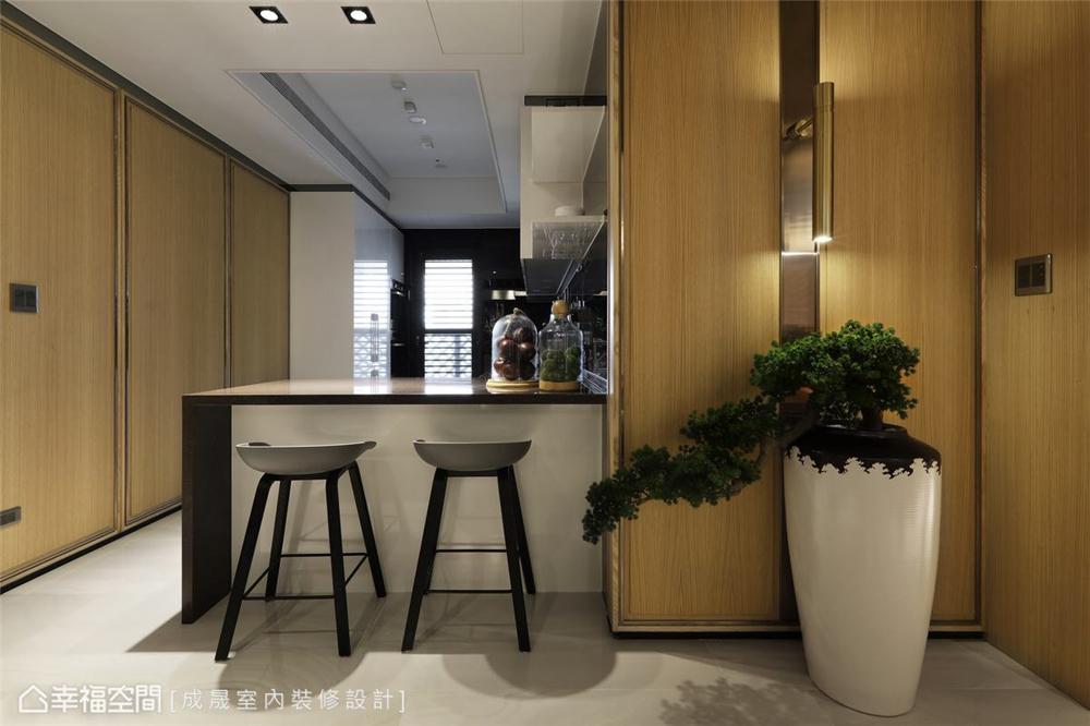 装修设计 装修完成 现代风格 厨房图片来自幸福空间在175平,阴阳调和  人文宅邸的分享