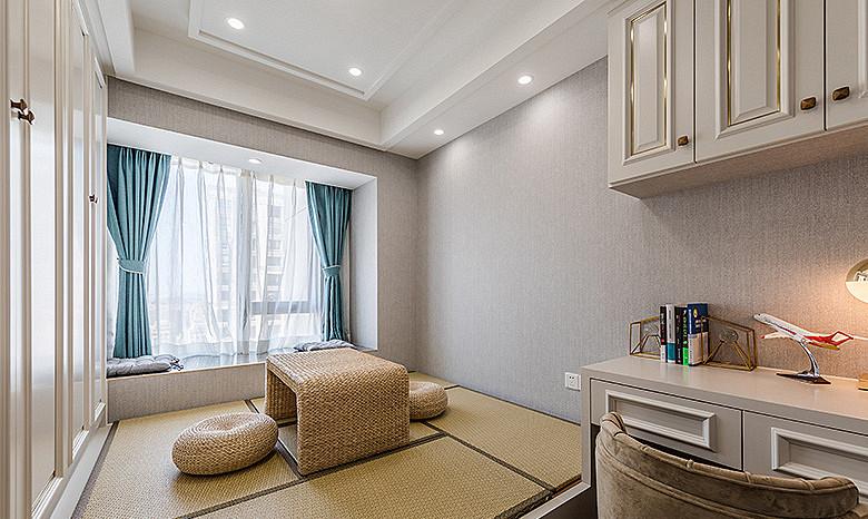 书房图片来自家装大管家在儒雅端庄 98平新中式时尚3居室的分享
