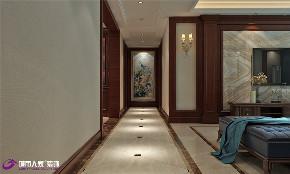 美式 玄关图片来自济南城市人家装修公司-在汉峪海风装修美式风格效果图的分享