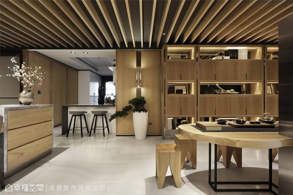 装修设计 装修完成 现代风格 其他图片来自幸福空间在175平,阴阳调和  人文宅邸的分享
