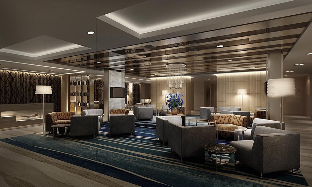 酒店设计 客厅图片来自智尚设计在上海商务酒店装修设计效果图的分享