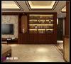 财富中心新中式风格装修效果图