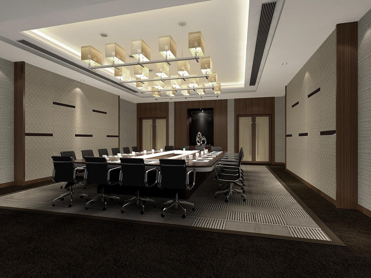 酒店设计 书房图片来自智尚设计在上海商务酒店装修设计效果图的分享