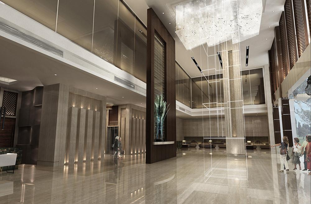 酒店设计 其他图片来自智尚设计在上海商务酒店装修设计效果图的分享