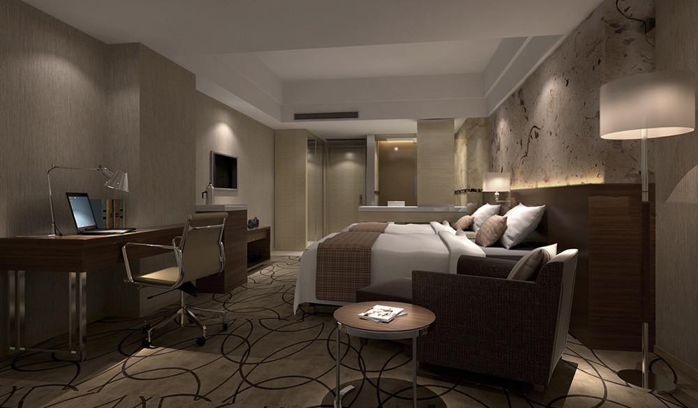 酒店设计 卧室图片来自智尚设计在上海商务酒店装修设计效果图的分享