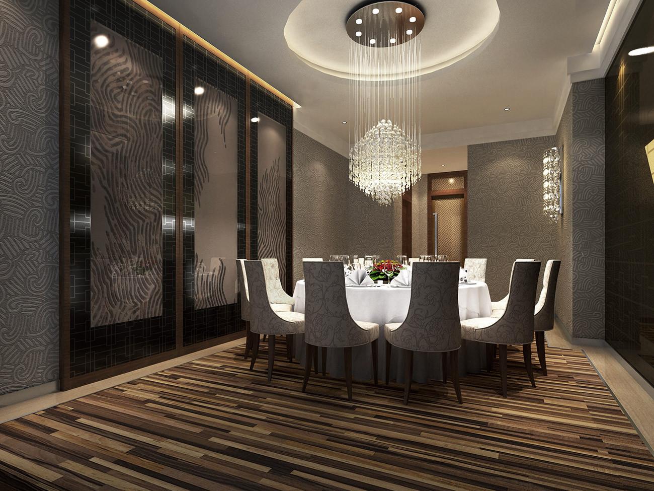 酒店设计 餐厅图片来自智尚设计在上海商务酒店装修设计效果图的分享