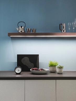 现代 黑白灰 性冷淡 混搭 鹏友百年 半包 全包 全案设计 厨房图片来自鹏友百年装饰在灰调简约空间,尽显和谐与宁静的分享