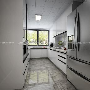 现代简约 时尚 大气 高富帅 白富美 温馨 白领 小资 混搭 厨房图片来自二十四城装饰(集团)昆明公司在蓝光·林肯公园  现代简约的分享