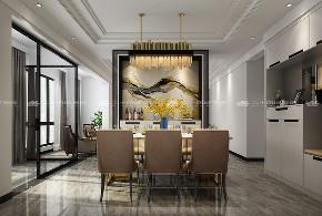 现代简约 时尚 大气 高富帅 白富美 温馨 白领 小资 混搭 餐厅图片来自二十四城装饰(集团)昆明公司在蓝光·林肯公园  现代简约的分享