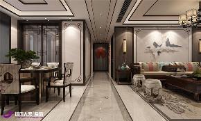 中式 其他图片来自济南城市人家装修公司-在海尔云世界三室两厅中式装修的分享
