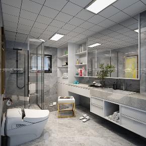 现代简约 时尚 大气 高富帅 白富美 温馨 白领 小资 混搭 卫生间图片来自二十四城装饰(集团)昆明公司在蓝光·林肯公园  现代简约的分享
