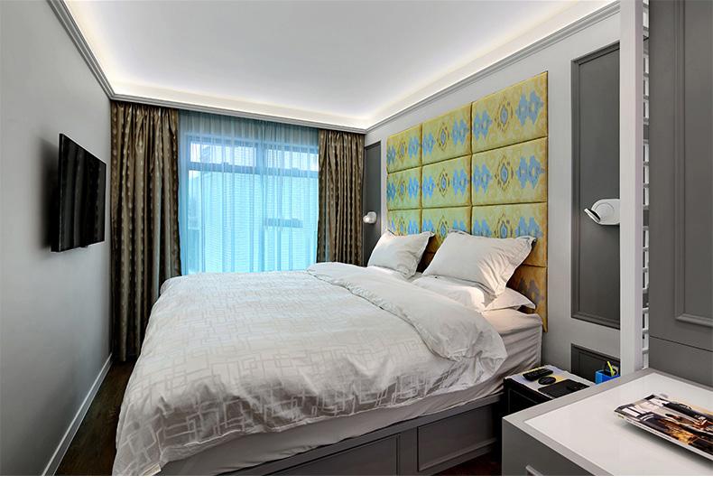 三居 英伦风 卧室图片来自乐粉_20181003112538352在英伦风格装饰装修 龙头装饰的分享