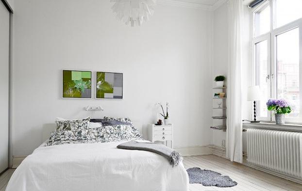 客厅 餐厅图片来自今朝宜居装饰在北欧风格单身公寓的分享