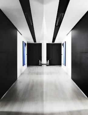 简约 黑白 现代 全案设计 半包 全包 玄关图片来自鹏友百年装饰在个性极简风的分享
