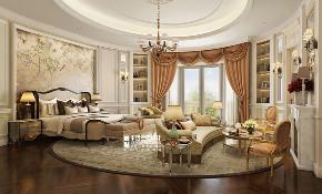 别墅 新古典 欧式 申远 别墅装修 卧室图片来自申远空间设计北京分公司在优山美地-新古典风格的分享