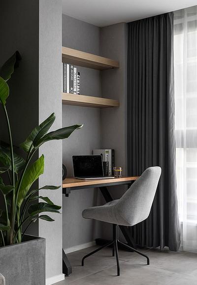 阳台图片来自家装大管家在布局紧凑 105平北欧素雅时尚3居的分享