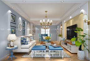 地中海 地中海风格 浪漫 文艺 小资 舒适 温馨 清新 未来家 客厅图片来自二十四城装饰(集团)昆明公司在中航玺樾  地中海风格的分享