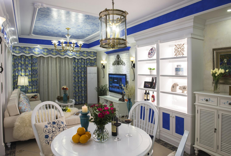 田园 小资 旧房改造 收纳 一居 餐厅图片来自北京今朝装饰在地中海西欧文艺的分享