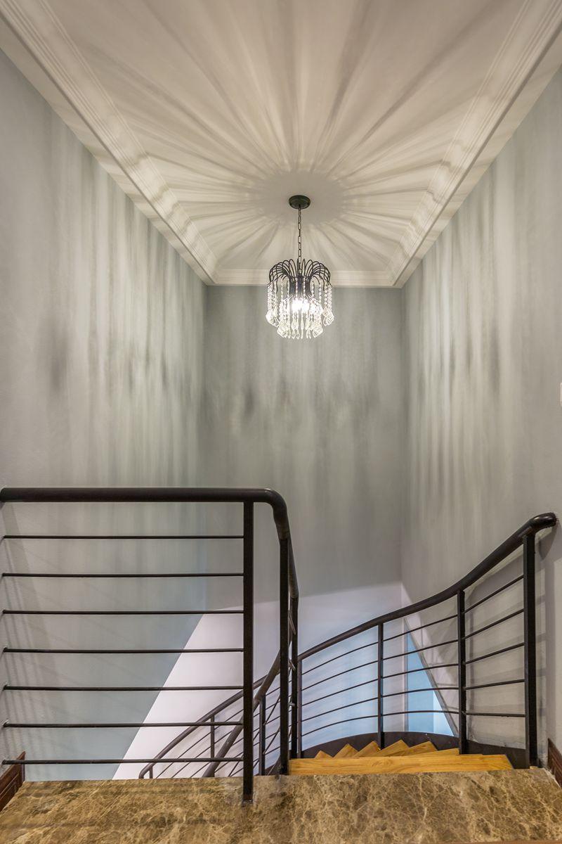 美式 案例 实景 重庆装修 俏业家 复式 楼梯图片来自俏业家装饰在龙湖南苑跃层美式实景装修案例的分享