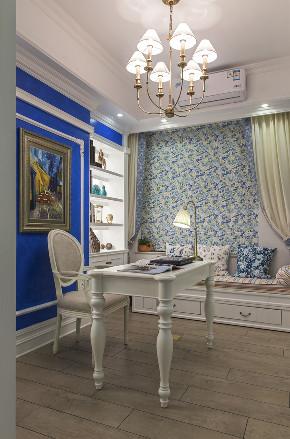 田园 小资 旧房改造 收纳 一居 书房图片来自北京今朝装饰在地中海西欧文艺的分享
