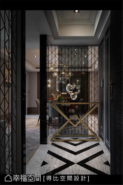 装修设计 装修完成 现代风格 玄关图片来自幸福空间在126平,大器简约时尚宅的分享